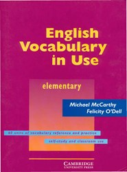 تصویر English Vocabulary in Use Elementary