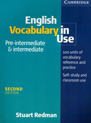 تصویر English Vocabulary in Use Pre-intermediate & intermediate